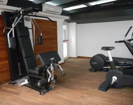 Always keep fit: take advantage of the gym at the Best Western Hotel Piemontese, 4 stars in the center of Bergamo.