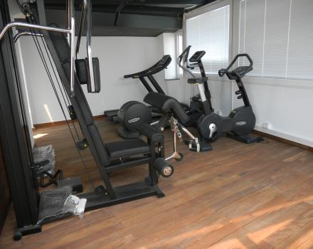 Keep fit always! Take advantage of the gym at the Best Western Hotel Piemontese, 4 stars in the center of Bergamo.