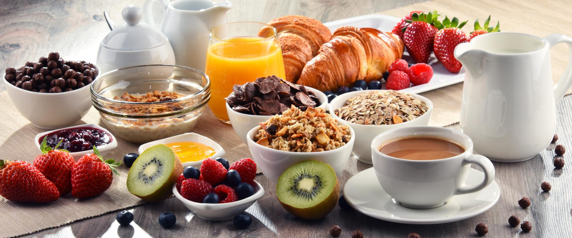 Per i soci Best Western Rewards® Platinum, Diamond e Diamond Select la colazione è gratis