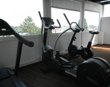 Always keep fit: take advantage of the gym at the Best Western Hotel Piemontese, 4 star centrally located in Bergamo!